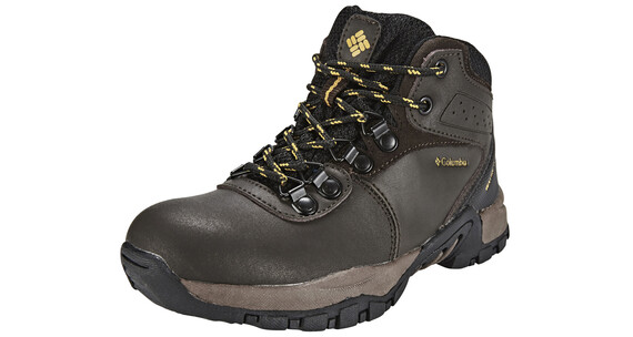 Columbia Newton Ridge Waterproof Shoes Youth cordovan